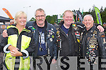Bernie Murphy, Joe McConville, Pat Daly and Paul Redmond Killarney up at the Harley Davidson Bikefest in Killarney on Sunday..