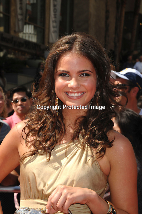 Shelley Hennig..arriving at The 34th Annual Daytime Emmy Awards on ..June 15, 2007 at The Kodak Theatre in Hollywood, California. ..Robin Platzer, Twin Images......212-935-0770