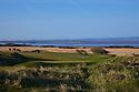 4th hole/Championship Course/Burnham & Berrow Golf Club, Burnham on Sea, Somerset..Picture Credit / Phil Inglis