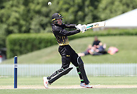 Action from the Round Eight match of the Ford Trophy one day series between Wellington Firebirds and Canterbury at Hagley Oval in Christchurch, New Zealand on Friday, 16 November 2018. Photo: Martin Hunter / lintottphoto.co.nz