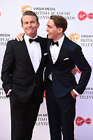 LONDON, UK. May 12, 2019: Bradley & Barney Walsh arriving for the BAFTA TV Awards 2019 at the Royal Festival Hall, London.<br /> Picture: Steve Vas/Featureflash