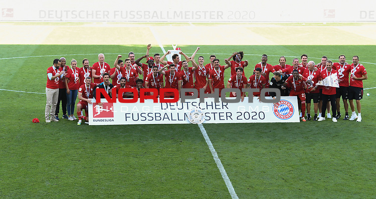 Deutscher Meister 2020, FC Bayern Muenchen<br />