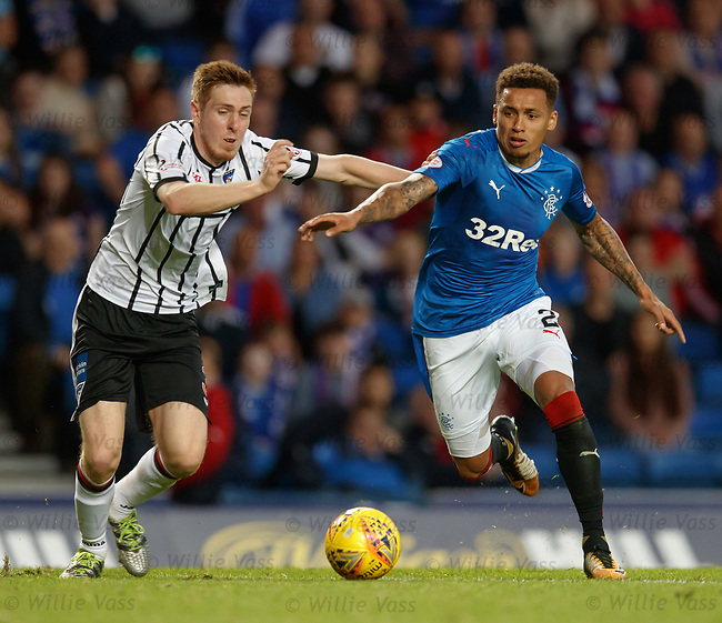 Lewis Martin and James Tavernier