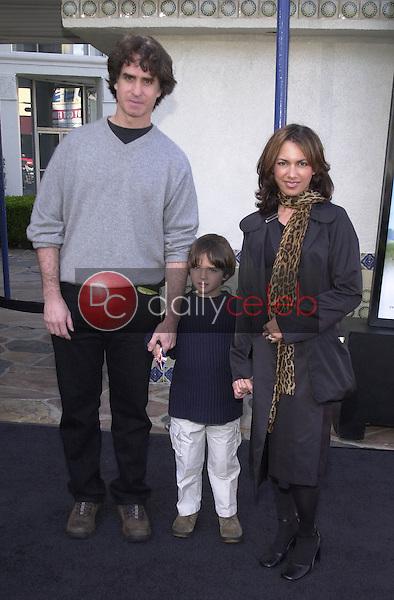 SUSANNA HOFFS, JAY ROACH and son JACKSON