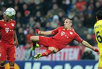 FUSSBALL   CHAMPIONS LEAGUE   SAISON 2011/2012     22.11.2011 FC Bayern Muenchen - FC Villarreal Franck Ribery (FC Bayern Muenchen) mit Ball