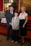Colm Rubotham with his dad Frank and his sponsor Mary Steptoe at Congress Avenue and Fatima Confirmation in St.Mary's Church...(Photo credit should read Jenny Matthews www.newsfile.ie)....This Picture has been sent you under the conditions enclosed by:.Newsfile Ltd..The Studio,.Millmount Abbey,.Drogheda,.Co Meath..Ireland..Tel: +353(0)41-9871240.Fax: +353(0)41-9871260.GSM: +353(0)86-2500958.email: pictures@newsfile.ie.www.newsfile.ie.