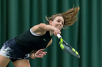 Wateringen, The Netherlands, March 16, 2018,  De Rhijenhof , NOJK 14/18 years, Nat. Junior Tennis Champ.  Perla Nieuwboer (NED)<br />  Photo: www.tennisimages.com/Henk Koster