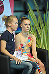 Rhythmic World Championships Montpelier France  Individual Competition Ribbon & Clubs. GORE Keziah
