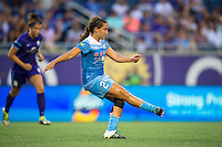 Orlando, FL - Saturday July 16, 2016: Danielle Colaprico during a regular season National Women's Soccer League (NWSL) match between the Orlando Pride and the Chicago Red Stars at Camping World Stadium.