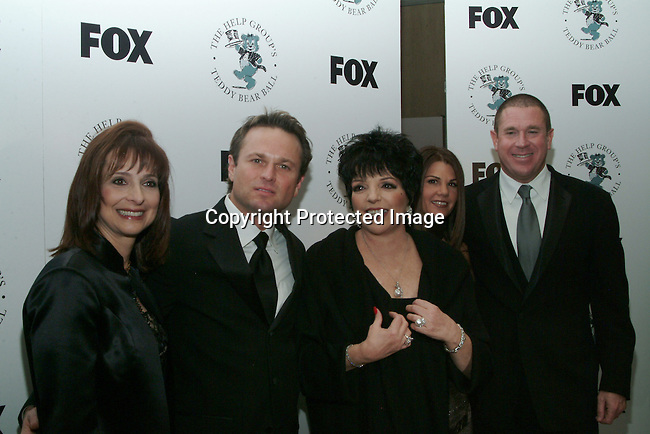 Sam Harris, Liza Minnelli, Barbara Grushow and Sandy Grushow<br />The H.E.L.P. Group&rsquo;s Teddy Bear Ball, honoring Sandy Grushow and his wife Barbara<br />Beverly Hilton Hotel<br />Beverly Hills, CA, USA  <br />Saturday, December 6, 2003  <br />Photo By Celebrityvibe.com/Photovibe.com