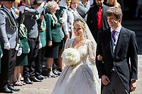 Mariage du Prince Ernst junior de Hanovre et de Ekaterina Malysheva &agrave; l'&eacute;glise Markkirche &agrave; Hanovre.<br /> Allemagne, Hanovre, 8 juillet 2017.<br /> Wedding of Prince Ernst Junior of Hanover and Ekaterina Malysheva at the Markkirche church in Hanover.<br /> Germany, Hanover, 8 july 2017