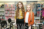 Lauren O'Grady and Laura Brassil at the CH Chemist Tralee Lions Club Charity Fashion Show on Friday