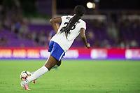 Orlando, FL - Saturday September 02, 2017: Ifeoma Onumonu during a regular season National Women's Soccer League (NWSL) match between the Orlando Pride and the Boston Breakers at Orlando City Stadium.