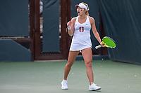 Stanford, CA: Women's Tennis versus Vanderbilt at Taube Family Tennis Center; February 23rd, 2019
