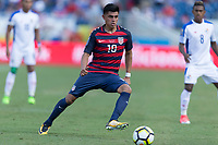Nashville, TN - Saturday July 08, 2017: Joe Corona during a 2017 Gold Cup match between the men's national teams of the United States (USA) and Panama (PAN) at Nissan Stadium.