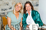 Charlotte Doyle and Ann Marie Hyland enjoying the evening in Bella Bia on Thursday.