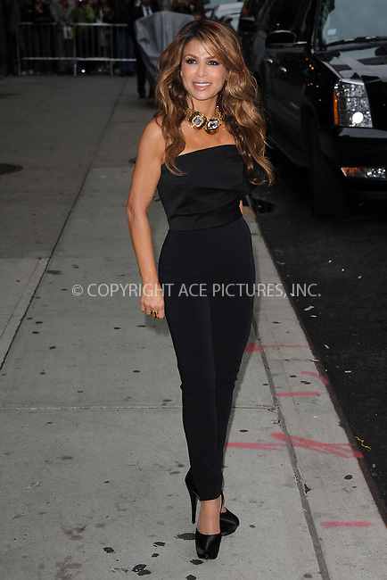 WWW.ACEPIXS.COM . . . . . .September 20, 2011...New York City...Paula Abdul arrives to tape an appearance on  the Late Show with David Letterman on September 20, 2011 in New York City....Please byline: KRISTIN CALLAHAN - ACEPIXS.COM.. . . . . . ..Ace Pictures, Inc: ..tel: (212) 243 8787 or (646) 769 0430..e-mail: info@acepixs.com..web: http://www.acepixs.com .