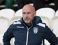 John McGreal, Head Coach of Colchester United during Colchester United vs Stevenage, Sky Bet EFL League 2 Football at the JobServe Community Stadium on 5th October 2019
