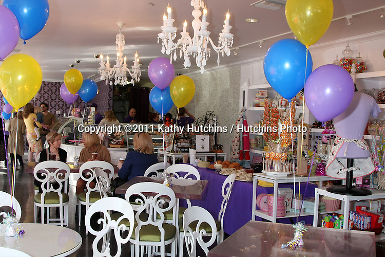 """LOS ANGELES - NOV 5:  Atmosphere at the """"YOU AND ME"""" Book Party at SweetHarts on November 5, 2011 in Sherman Oaks, CA"""