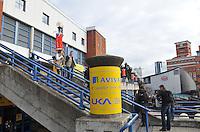 Photo: Tony Oudot/Richard Lane Photography. Aviva Grand Prix. 20/02/2010. .The National Indoor Arena in Birmingham.