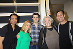 """Rehearsals for Ragtime starring Jose Llana, One Life To Live Kerry Butler """"Claudia Reston"""", Matt Cavenaugh (also As The World Turns """"Adam Munson""""), General Hospital Tyne Daly """"Caroline"""", Jarrod Emick on February 11, 2013 for a concert at Avery Fisher Hall, New York City, New York on Monday February 18, 2013. (Photo by Sue Coflin/Max Photos)"""