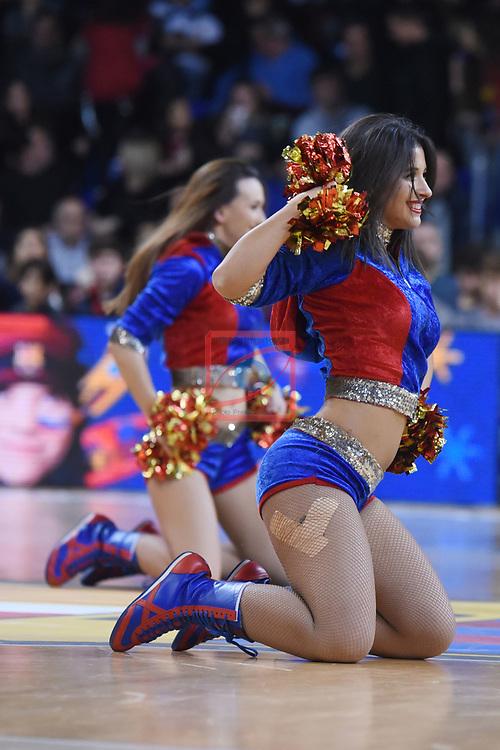 Turkish Airlines Euroleague 2018/2019. <br /> Regular Season-Round 16.<br /> FC Barcelona Lassa vs Darussafaka Tekfen Istanbul: 97-65.<br /> Dream Cheers.