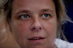 Foto: VidiPhoto..HARARE - Drs. Erna Rijnierse van Artsen Zonder Grenzen Nederland (AZG) verblijft op dit moment in Zimbabwe als cholera-arts.