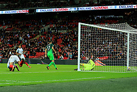 England Harry Kane scores Englands only goal during the FIFA World Cup 2018 Qualifying Group F match between England and Slovenia at Wembley Stadium on October 5th 2017 in London, England. <br /> Calcio Inghilterra - Slovenia Qualificazioni Mondiali <br /> Foto Phcimages/Panoramic/insidefoto