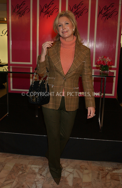 WWW.ACEPIXS.COM . . . . . ....NEW YORK, FEBRUARY 10, 2005....Kathy Hilton at the launch of Paris Hilton's new fragrance at Lord & Taylor.....Please byline: KRISTIN CALLAHAN - ACE PICTURES.. . . . . . ..Ace Pictures, Inc:  ..Philip Vaughan (646) 769-0430..e-mail: info@acepixs.com..web: http://www.acepixs.com