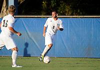 Florida International University men's soccer player Nicholas Chase (8) plays against Nova University on August 26, 2011 at Miami, Florida. FIU won the game 2-0. .