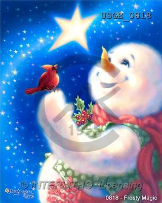 Dona Gelsinger, CHRISTMAS SANTA, SNOWMAN, classical, paintings(USGE0818,#X#) Weihnachtsmänner, Papá Noel, Weihnachten, Navidad, illustrations, pinturas klassisch, clásico