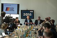 Praesentation der CDU-Kampagne fuer die Abgeordnetenhauswahl am 18. September 2016 in Berlin.<br /> Der CDU-Landesvorsitzende Frank Henkel stellte am Mittwoch den 6. April 2016 zusammen mit dem<br /> Wahlkampfleiter Kai Wegner und dem<br /> Kampagnenmanager Thomas Heilmann die Kampagne der Berliner CDU zur Abgeordnetenhauswahl vor. Konkrete Plakate mit Fotomotiven konnten nur eingeschraenkt gezeigt werden, da die CDU die Nutzungsrechte nicht erworben hat. So wurden den Journalisten nur Plakatideen und das Logo der Kampagne praesentiert.<br /> Im Bild vlnr: Thomas Heilmann, Frank Henkel.<br /> 6.4.2016, Berlin<br /> Copyright: Christian-Ditsch.de<br /> [Inhaltsveraendernde Manipulation des Fotos nur nach ausdruecklicher Genehmigung des Fotografen. Vereinbarungen ueber Abtretung von Persoenlichkeitsrechten/Model Release der abgebildeten Person/Personen liegen nicht vor. NO MODEL RELEASE! Nur fuer Redaktionelle Zwecke. Don't publish without copyright Christian-Ditsch.de, Veroeffentlichung nur mit Fotografennennung, sowie gegen Honorar, MwSt. und Beleg. Konto: I N G - D i B a, IBAN DE58500105175400192269, BIC INGDDEFFXXX, Kontakt: post@christian-ditsch.de<br /> Bei der Bearbeitung der Dateiinformationen darf die Urheberkennzeichnung in den EXIF- und  IPTC-Daten nicht entfernt werden, diese sind in digitalen Medien nach §95c UrhG rechtlich geschuetzt. Der Urhebervermerk wird gemaess §13 UrhG verlangt.]
