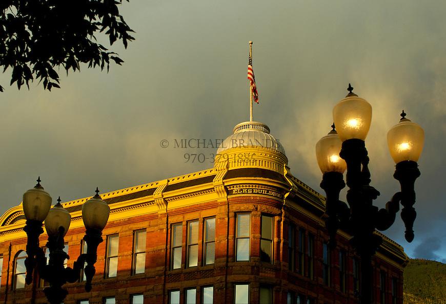 Aspen, Colorado. Elks Building. © Michael Brands. 970-379-1885.
