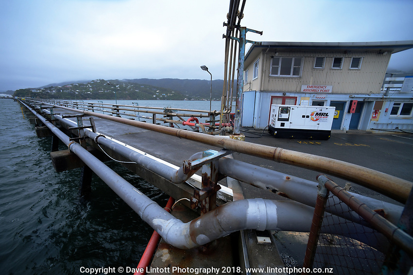 Site operations at CentrePort Seaview in Wellington, New Zealand on Friday, 9 November 2018. Photo: Dave Lintott / lintottphoto.co.nz