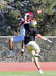 Palos Verdes, CA 10/27/17 - in action during the Morningside Monarchs - Palos Verdes Peninsula Varsity football game at Peninsula High School.