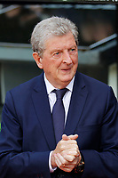 Crystal Palace manager, Roy Hodgson rubs his hands during the EPL - Premier League match between Crystal Palace and West Bromwich Albion at Selhurst Park, London, England on 13 May 2018. Photo by Carlton Myrie / PRiME Media Images.