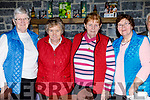 Maureen O'Mahony, Nell Murphy, Peg Cahill and Kathleen Walsh, pictured at the Knocknagoshel Senior Citizens lunch at the Brogue Inn, Tralee, on Saturday last.