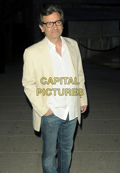 GRIFFIN DUNNE .9th Annual Tribeca Film Festival - Vanity Fair Party held at at New York State Supreme Court, New York, NY, USA, .20th April 2010..half length  cream beige jacket glasses white shirt jeans hand in pocket .CAP/ADM/BM.©Bill Menzel/AdMedia/Capital Pictures.