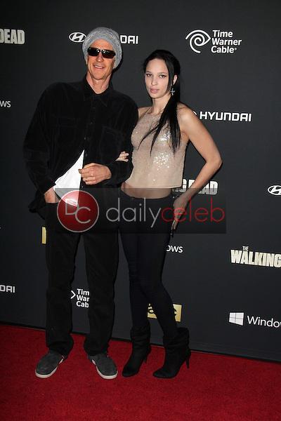 "Matthew Modine, Ruby Modine<br /> at ""The Walking Dead"" Season Four Premiere, AMC Universal Citywalk Stadium 19,  Universal City, CA 10-03-13<br /> Dave Edwards/DailyCeleb.com 818-249-4998"