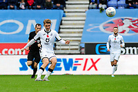 George Byers of Swansea City in action during the Sky Bet Championship match between Wigan Athletic and Swansea City at The DW Stadium in Wigan, England, UK. Saturday 2 November 2019