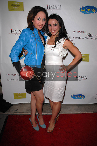 """Jenny Leeser and Anastasia Fontaines<br /> at the 6th Annual Los Angeles Women's Int'l Film Festival Opening Night Benefit Screening of """"Serious Moonlight,"""" The Libertine, West Hollywood, CA. 03-26-10<br /> David Edwards/DailyCeleb.com 818-249-4998"""