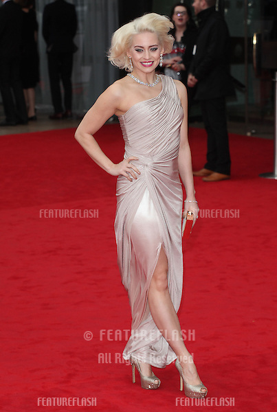 Kimberley Wyatt arriving for the TV BAFTA Awards 2013, Royal Festival Hall, London. 12/05/2013 Picture by: Alexandra Glen / Featureflash