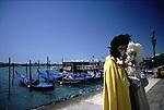 Carneval in Venedig, maskierte