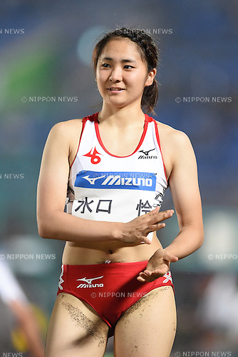 Chisato Mizuguchi, <br /> JULY 25, 2015 - Athletics : <br /> All Star Night Track &amp; Field <br /> Women's Long Jump <br /> at Shonan BMW Stadium Hiratsuka, Kanagawa, Japan. <br /> (Photo by AFLO SPORT)