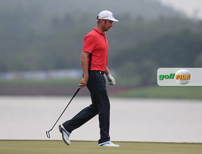 Mikko Ilonen (FIN) shoots one of five lowest rounds (67) and moves just three shots behind the leader Alexander Levy (FRA) during Round Three of the 2014 Volvo China Open, Genzon Golf Club, Shenzhen, China. Picture:  David Lloyd / www.golffile.ie