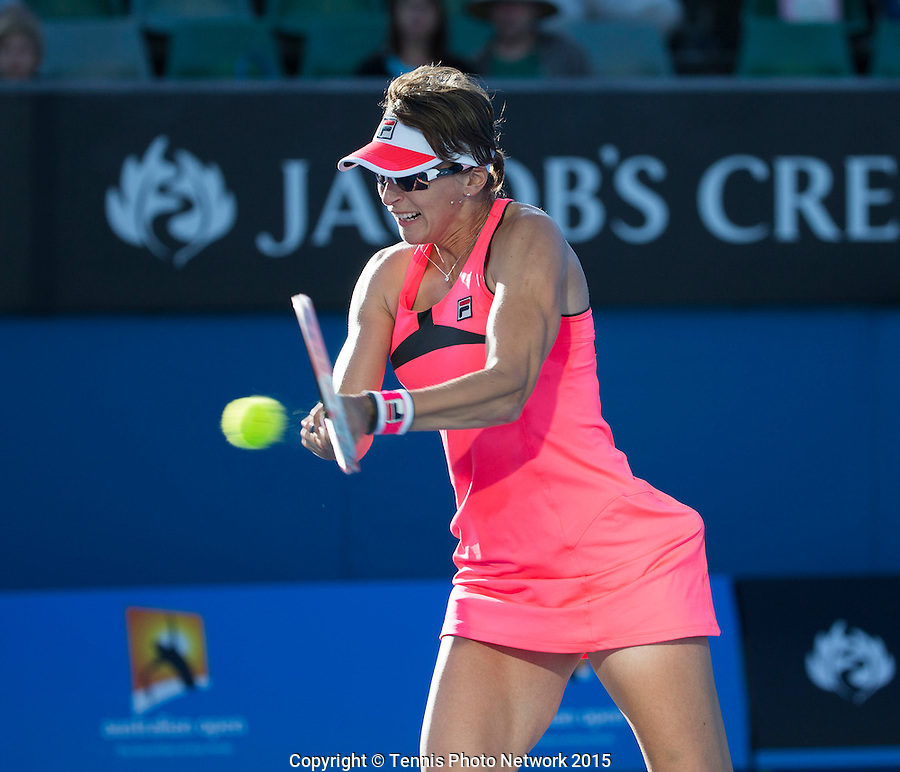 Tennis - Australian Open 2015 - Grand Slam -  Melbourne Park - Melbourne - Victoria - Australia  - 19 January 2015. <br /> &copy; AMN IMAGES
