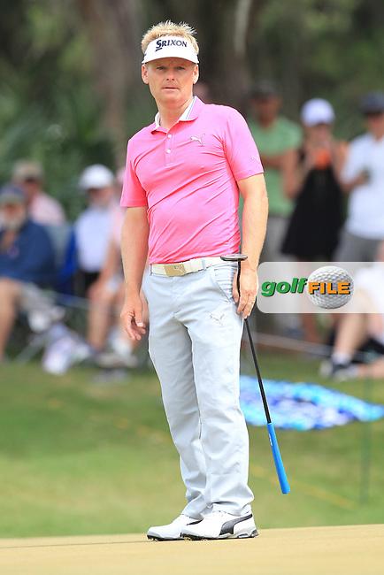 Soren Kjeldsen (DEN)  during the Final Round of The Players, TPC Sawgrass, Ponte Vedra Beach, Jacksonville.   Florida, USA. 15/05/2016.<br /> Picture: Golffile | Mark Davison<br /> <br /> <br /> All photo usage must carry mandatory copyright credit (&copy; Golffile | Mark Davison)