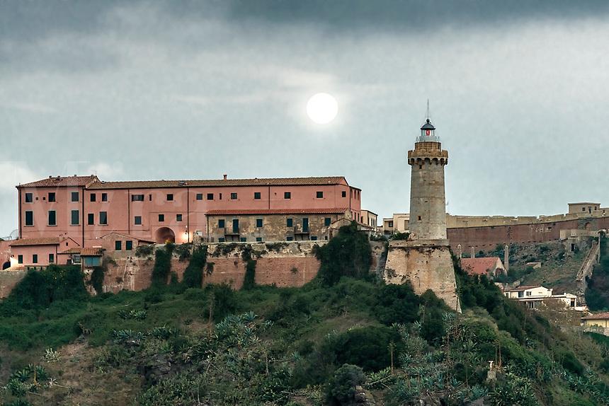 Lighthouse of Portoferraio, Elba, Toscana, Italy, Europe.