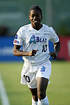 4 July 2003: Charmaine Hooper of Canada. The Carolina Courage defeated the Atlanta Beat 3-2 at SAS Stadium in Cary, NC in a regular season WUSA game.