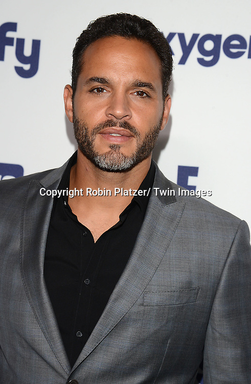 Daniel Sunjata attends the NBCUniversal Cable Entertainment Upfront <br /> on May 15, 2014 at The Javits Center North Hall in New York City, New York, USA.